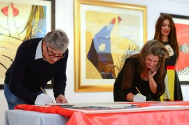 Deborah Azzopardi, Christie's Signing, 18Oct2013, photo by Cristina Schek (10)
