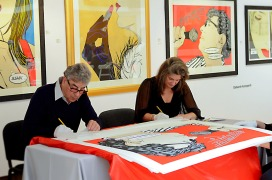 Deborah Azzopardi, Christie's Signing, 18Oct2013, photo by Cristina Schek (16)