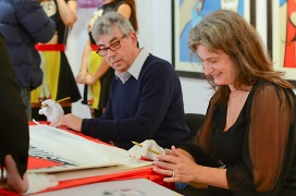 Deborah Azzopardi, Christie's Signing, 18Oct2013, photo by Cristina Schek (17)