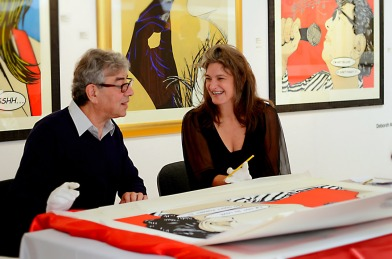 Deborah Azzopardi, Christie's Signing, 18Oct2013, photo by Cristina Schek (20)