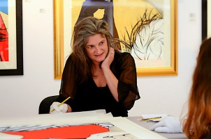 Deborah Azzopardi, Christie's Signing, 18Oct2013, photo by Cristina Schek (25)
