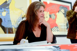 Deborah Azzopardi, Christie's Signing, 18Oct2013, photo by Cristina Schek (26)