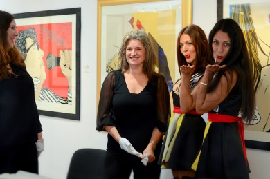 Deborah Azzopardi, Christie's Signing, 18Oct2013, photo by Cristina Schek (41)