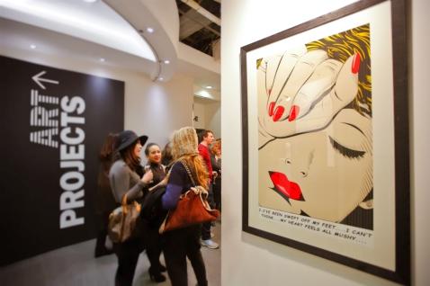 Deborah Azzopardi - London Art Fair 2014 (5)