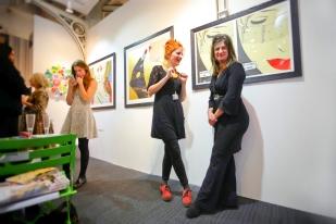 Deborah Azzopardi - London Art Fair 2014, Preview Evening (2)