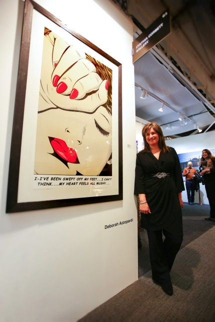 Deborah Azzopardi, London Art Fair 2014, photo by Cristina Schek (1)
