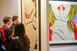 Deborah Azzopardi, London Art Fair 2014, photo by Cristina Schek (2)