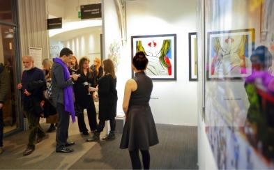Deborah Azzopardi, London Art Fair 2014, photo by Cristina Schek (3)