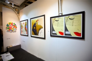 Deborah Azzopardi, London Art Fair 2014, photo by Cristina Schek (4)
