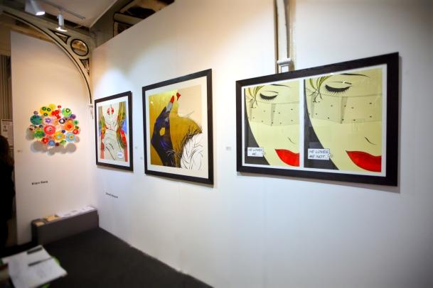 Deborah Azzopardi, London Art Fair 2014, photo by Cristina Schek (4)