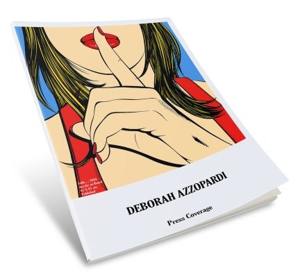 Deborah Azzopardi, Press Coverage update June2016 - 65 pages, compliled and designed by Cristina Schek