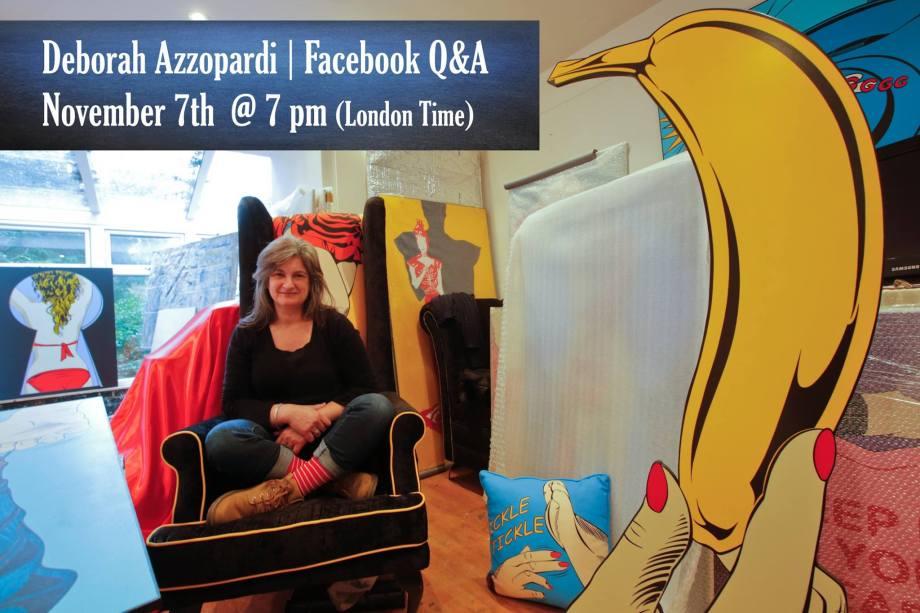 Deborah Azzopardi  Q & A