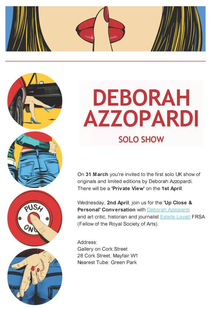 Deborah Azzopardi Solo Show