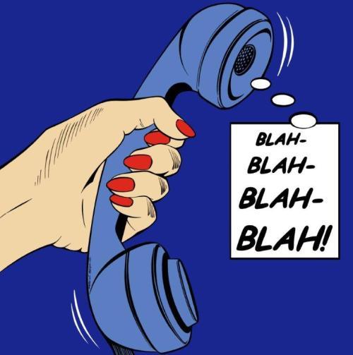 BLAH-BLAH-BLAH-BLAH by Deborah Azzopardi