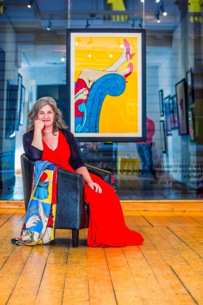Deborah Azzopardi 2016, portrait by Cristina Schek (1)