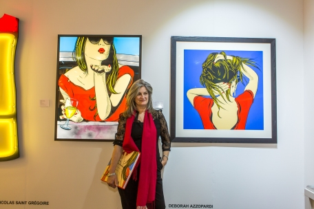 Deborah Azzopardi, London Art Fair, Stand 5. Photo credit: Cristina Schek