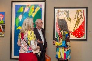 Deborah Azzopardi - Pop Art at Catto Gallery, photo by Cristina Schek (1)