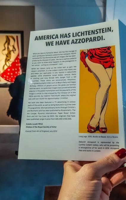 Deborah Azzopardi - Pop Art at Catto Gallery, photo by Cristina Schek (13)