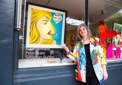 Deborah Azzopardi - Pop Art at Catto Gallery, photo by Cristina Schek (14)