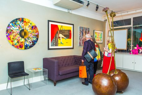 Deborah Azzopardi - Pop Art at Catto Gallery, photo by Cristina Schek (15)