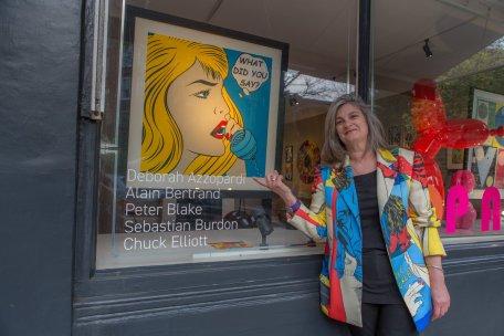 Deborah Azzopardi - Pop Art at Catto Gallery, photo by Cristina Schek (3)