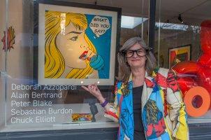 Deborah Azzopardi - Pop Art at Catto Gallery, photo by Cristina Schek (4)
