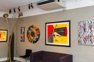 Deborah Azzopardi - Pop Art at Catto Gallery, photo by Cristina Schek (9)